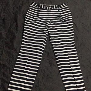 Express stripe sailor pants. NWT